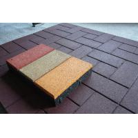 Buy cheap Customized Rubber Sports Flooring EPDM Material For Tennis / Football Courts from wholesalers