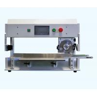 Buy cheap V Groove PCB Depaneling Machine With High Speed Steel Linear / Circular Blades from Wholesalers