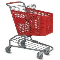 Buy cheap Plastic Supermarket Trolley/Cart from wholesalers
