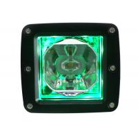 Buy cheap 15W RGB LED Vehicle Work Light , 700lm Aluminium Housing Led Cube Light from wholesalers