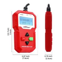 Buy cheap Portable Konnwei Scan Tool  Universal Car Diagnosis Machine Easy To Use from wholesalers