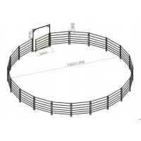 Buy cheap Anti Corrosion Steel Sheep Fence Panels / Goat Corral Panels 200-500g/M2 Zn Coat from wholesalers