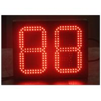 Buy cheap 2 Digit LED Count UP / LED Count Down Timer / Time and Temperature Display / Digital LED Gas Station Sign 8.889 & 8.888 from wholesalers