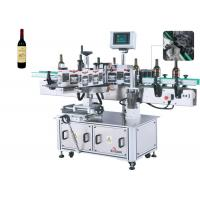 China Wine Bottle Label Applicator Machine High-Power Servo Motor , Beer Bottle Labeler on sale
