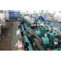 Buy cheap CZ Purlin Roll Forming Machine , Steel Roll Forming Machine With Hydraulic Decoiler from wholesalers