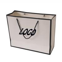 Buy cheap Recyclable Cardboard Bag Matt Lamination Surface Finish For Gift / Shopping product