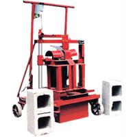 Buy cheap QTJ4-35B2 cement hollow block machine from wholesalers