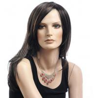 Buy cheap Synthetic Heat Resistant Wigs / Long Bob Wigs With Side Bangs from wholesalers