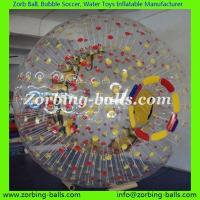 Buy cheap Zorb Ball Football Bubble Soccer Bumper Human Hamster Water Walking Roller Body Zorbing PVC TPU Adult Kid Size Colored from wholesalers