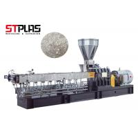 Buy cheap PET pelletizing line Water Cooling Strands Pelletizing Extruder 38CrMoALA screw from wholesalers