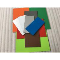 Buy cheap Pearl Red PVDF Paint Aluminium Composite Sheet With Weather Resistance product