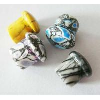 Buy cheap Labret Piercing Glass Body Jewelry , 14 Gauge Earring Plugs for Party from wholesalers