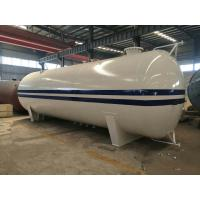 Buy cheap 25 Tons LPG Bullet Tanks 50 CBM Color Custom For Gas Cylinder Refilling from wholesalers