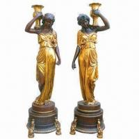 Buy cheap Polyresin Statue Decoration, A Couple, Handmade Processing, Best Sellers from wholesalers