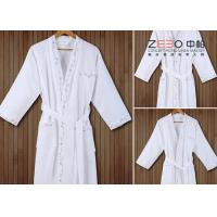 Buy cheap Soft Touch Hotel Style Bathrobes Hotel Collection Robe Excellent Water Absorption from wholesalers