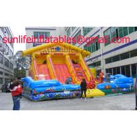 Buy cheap Inflatable Bouncy Castle With  Fun City And  Moonwalk Bounce For Adult And Childhood from wholesalers