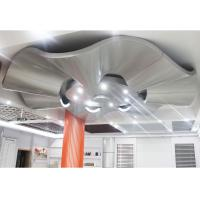 Buy cheap Corrugated Aluminum Wall Panels / Architectural Metal Ceiling Tiles Suspended from wholesalers