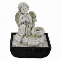 Buy cheap Angel tabletop water fountain from wholesalers