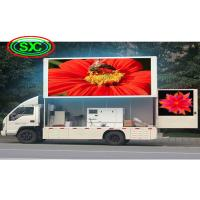 China 6mm Pitch Outdoor Mobile Car LED Sign Display Advertising Truck Movie Video For Media on sale
