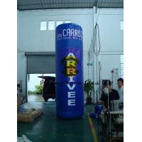 Buy cheap Oxford 4m Advertising Helium Balloons Custom Inflatable Pillar For Trade Show product