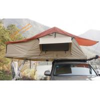 Buy cheap Outdoor  Waterproof Aluminum Poles 2-4 People Travelling Camping Trailer Tent  Car Top Tent from wholesalers