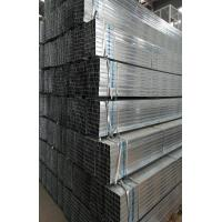 Buy cheap Square And Rectangular Pre Galvanized Steel Pipe , Zinc Coating 60 - 140g/m2 from wholesalers