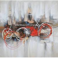 Buy cheap Colorful Modern Art Paintings On Canvas , Contemporary Canvas Wall Art from wholesalers