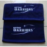 Buy cheap Cheap 100% cotton custom embroidered gym/sports/fitness towel with custom logo from wholesalers