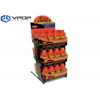 Buy cheap Glossy Laminate Cardboard Countertop Displays For Canned / Plastic Bottle Drinks from wholesalers