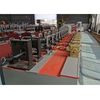 Buy cheap Polyurethane Foam Filled Rolling Shutter Roll Forming Machine For Making Door product