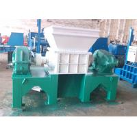 Buy cheap Full Automatic Twin Shaft Waste Tire Shredder Machine 4.5-5.5 T/H Capacity from wholesalers
