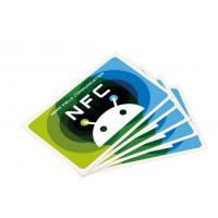Buy cheap NTAG213 PVC / PET NFC Tag Sticker ,13.56MHz NFC RFID SMART card from wholesalers