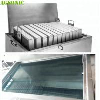 Buy cheap Food industry Cleaning Machine for Oven Tray Pizza Pan with Ultrasonic and Heating System from wholesalers