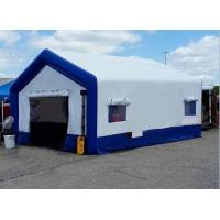 Buy cheap Outdoor Large Inflatable Emergency Tent Hospital Medical Shelters For Rescue from wholesalers