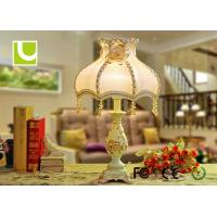 Buy cheap Bedroom / Bathroom E27 Luxurious Table Lamps 230V With Hand Carved from wholesalers