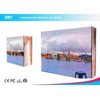 Buy cheap 281 Trillion Color Outdoor Advertising LED Display With Steel / Aluminum Panel from wholesalers