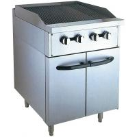 Buy cheap Stainless Steel 380V Gas Lava Rock Grill With Cabinet 12KW For Kitchen Equipments from wholesalers
