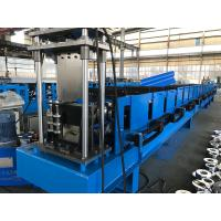 Buy cheap 7.5kw Pre Engineering Building Forming Machine , 18 Stations Gutter Roll Forming Machine from wholesalers