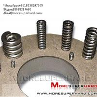 Buy cheap CBN grinding disc for spring grinding   Alisa@moresuperhard.com from wholesalers