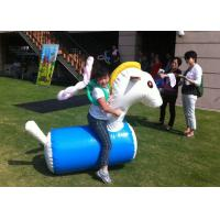 Buy cheap Fun Playing Inflatable Sports Toys Safe PVC Tarpaulin Inflatable Horse Racing from wholesalers