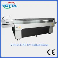 Buy cheap Glass uv flatbed printer for ceramic,marble,tiles,mosaic,wood,leather printing machine from wholesalers