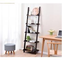 Thick Wood Five Shelf Storage Rack  , Different Widths Decorative Wooden Ladder