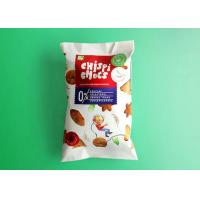 Buy cheap Color Printing 3 Side Seal Pouch For Cookie , Laminated Material Back Seal bag from wholesalers
