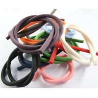 Buy cheap colorful silicone rubber rope cord for making jewelry from China manufacturer from wholesalers