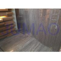 Buy cheap Aluminum Alloy Hanging Chain Room Dividers Easy Installed For Dubai Hotel / Spa product