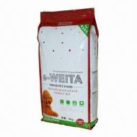 Buy cheap Pet Food Gusset Bag, for Dog, Cat, Bird, Fish, Exported to USA, UK, Australia, Canada, Japan from wholesalers
