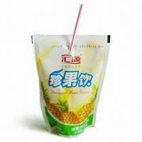 Buy cheap Pouch Front for Beverage, with Special Hole, Easy-to-insert for Straw from wholesalers