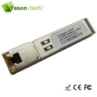 Buy cheap Copper SFP Multi-port RJ45 Connector For Cisco Copper SFP from wholesalers