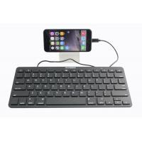 Buy cheap 8 Pin Ultrathin Ipad Keyboard Wired With Lightening Connector product