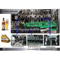 Buy cheap Automatic Glass Bottle Filling Machine for 300 ~ 1500ml Bottled Beer from wholesalers